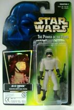 Star Wars Power of The Force Freeze Frame At-st Driver Action Figure