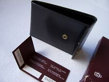 CASTELIJN & BEERENS LEATHER CREDIT CARD WALLET - 11cm X 7.5cm -
