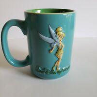 Tinkerbell Walt Disney World Coffee Cup Mug 16oz 3D