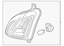Genuine GM Signal Lamp Assembly 84226246