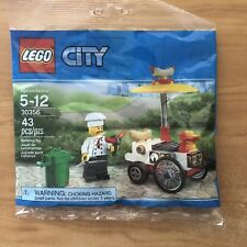 Lego City 30356 Hot Dog Stand Poly Bag New