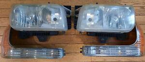 Headlights Turn Signals Parking Left + Right 99-00 GMC Yukon Denali XL Escalade