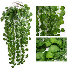 12 Pcs Fake Ivy Vine Artificial Leaves Greenery Garlands Hanging for Home Decor