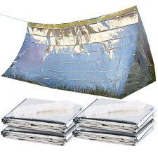 Semptec 4er-Set Notfall-Zelte für 2 Personen, hitzeabweisend, kältedämmend