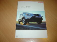 CATALOGUE Honda CR-V de 2003