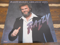 Razzy Bailey Greatest Hits Stereo AHL1-4679 Vintage Vinyl Record LP 1983
