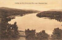 Postcard Connecticut River Massachusetts