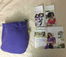 Boba Wrap Baby Carrier, Purple Newborn Sling for 0-36 months & Up to 35 lbs