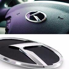 3D K Logo Steering Wheel Horn Cap Emblem Badge For KIA 2012-2016 Rio / Pride