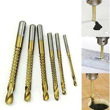 Twist Drill Bit Woodworking Wood Metal Plastic Cutting Hole Saw Drills