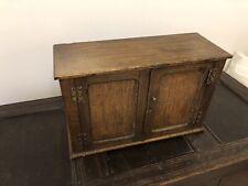 Vintage Antique Oak Small Cupboard
