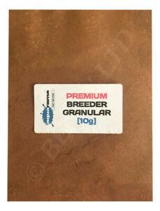 Premium Breeder Granular Fish Food for Fry, Cichlid,Discus, Angels, etc [10g]