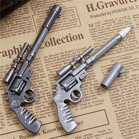 Novelty Pens Gun Shape Ballpoint Stationery Pen Student Office Creative Yw