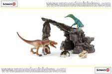 Dinosa Kit de dinosaures avec Grotte SCHLEICH - SC 41461
