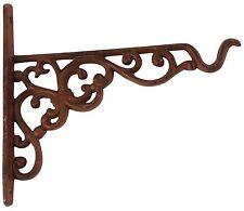 crochet mural suspension pour fleurs maison rustique en fonte 21 cm Placez REGAL