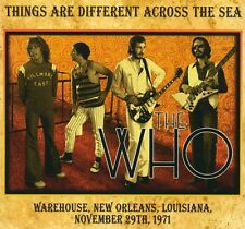 THE WHO - THINGS ARE DIFFERENT ACROSS THE SEA (LIVE 1971) - CD CARDBOARD SLEEVE