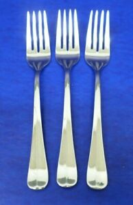 """3 - Gorham NEW COLONY Glossy 18/8 Stainless Vietnam Flatware 6 7/8"""" SALAD FORKS"""
