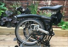 Brompton M3R 2015 black, great condition. Global shipping.