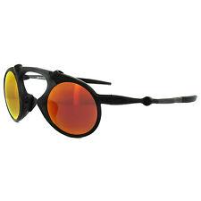 Oakley Sunglasses Madman OO6019-04 Dark Carbon Ruby Iridium Polarized