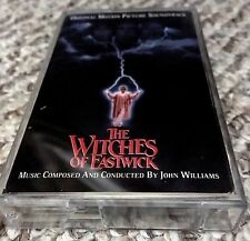 WITCHES OF EASTWICK: MOTION PICTURE MOVIE SOUNDTRACK BY JOHN WILLIAMS (CASSETTE)