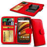 Clip On PU Leather Flip Wallet Book Case Cover For Motorola RAZR D3 XT919