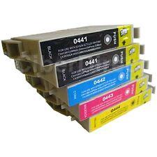 5 ciberdirect t0441 t0442 t0443 t0444 Cartucce di inchiostro per adattare le stampanti EPSON