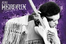 Jimi Hendrix ~ Hearing Strings ~ 24x36 Music Poster Icon Rock Guitar New/Rolled!