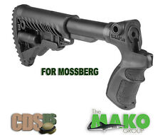 MAKO FAB Tactical Collapsible Buttstock  Stock for Mossberg 500 AGM500-FK