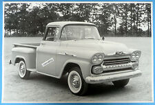 """12 By 18"""" Black & White Picture 1958 1/2 Ton Pickup"""