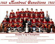 Montreal Canadiens 1952-53 Champ. Team Photo