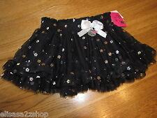 Girls Hello Kitty HK Tutu Skirt with Hologram HK5603661 Black skirt 4 NWT^^