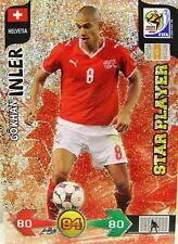 Panini Adrenalyn XL WM 2010 Gokhan Inler Star Player