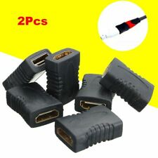 2Pcs New Adapter F/F Extender Female To Female HDMI Connector Coupler HDTV 1080P