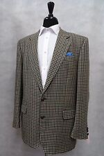 Men's Daks Green Tweed Jacket Blazer 44L SK1610