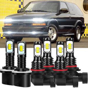 Para For Chevy Trailblazer 2002-2005 - Faro LED + Bombilla de luces antiniebla