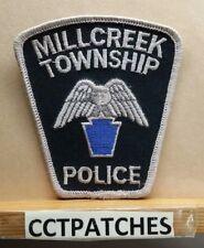 MILLCREEK TOWNSHIP, PENNSYLVANIA POLICE SHOULDER PATCH PA