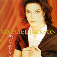 Michael Jackson – Earth Song - CD SINGLE CARDSLEEVE 2 TITRES 1995