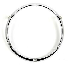 New! 1969  Ford MUSTANG Front Headlight Outer Chrome Ring Door Trim Bezel