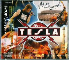 Alive in Europe by Tesla (CD, Apr-2010, Japanese Import)