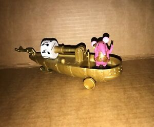 Clangers Music Boat + Major figure toy playset bundle CBeebies