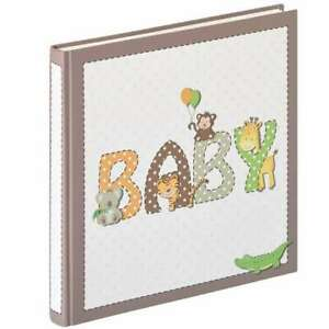 """Walther Potpourri Baby Traditional Photo Album - 50 Sides Overall Size 12x11.5"""""""
