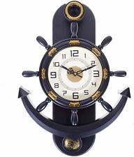 Pendulum Grey Anchor Shape Analog Wall Clock Decorative New Wall Clock