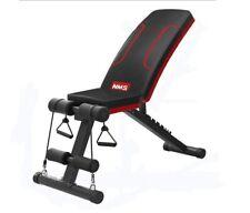Foldable Sit Up Bench Fitness Training Exercise GYM Slant Abdominal AD Crunch UK