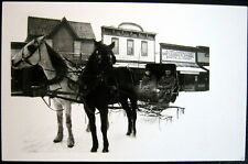 ASPEN CO ~ 1890's Downtown ~ Horse Carriage~ LINDQUIST STORE  ~1930's  RPPC