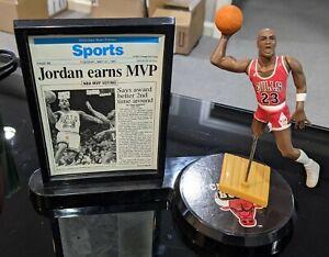 1992 Michael Jordan Starting Lineup Headline Collection NBA Chicago Bulls