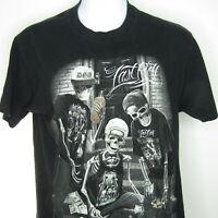DGA David Gonzales Art Last Roll Skeleton Skull Mens t tee Shirt large