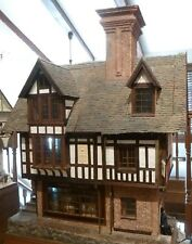BRIAN POOLE  EXQUISITE MINIATURE DOLLHOUSE  FROM ENGLAND MADE IN 1988