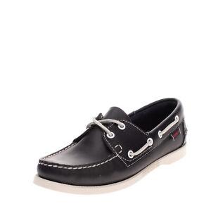 RRP €105 SEBAGO DOCKSIDES Leather Deck Shoes Size 39 UK 6 US 8.5 Slip Resistant