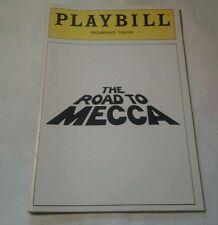 PLAYBILL THE ROAD TO MECCA JUNE 1988 PROMENADE THEATRE