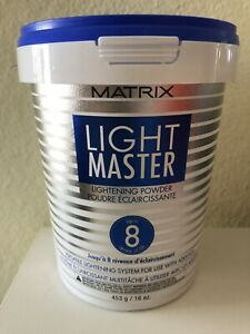 MATRIX LIGHT MASTER LIGHTENING POWDER 16oz New!